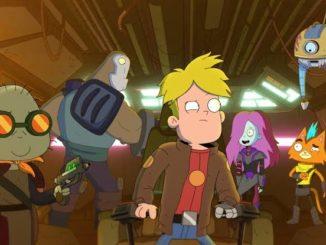 imagem ilustrativa da serie animada final space